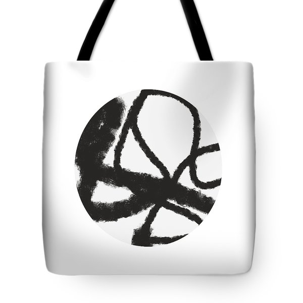 Fastball 3- Modern Art By Linda Woods Tote Bag