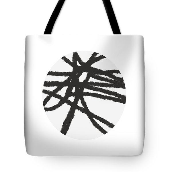 Fastball 4- Abstract Art By Linda Woods Tote Bag