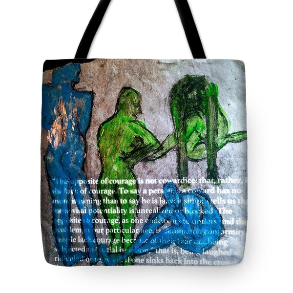 Fear Of The Inexplicable Tote Bag