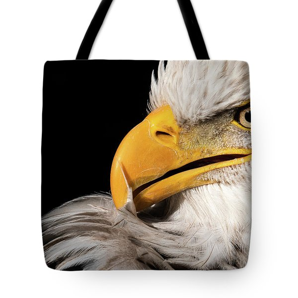 Feather Preening Tote Bag