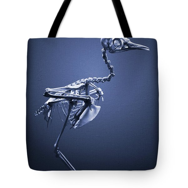 Featherless In Blue Tote Bag