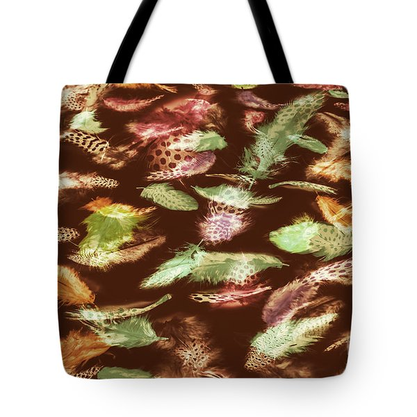 Feathery Flights Tote Bag