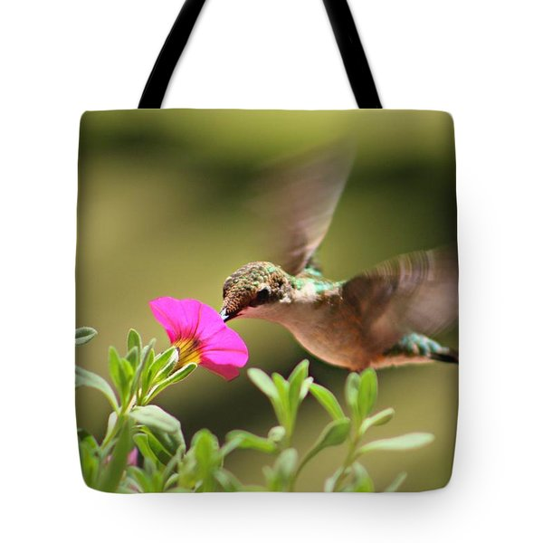 Tote Bag featuring the photograph Feeding Time by Candice Trimble