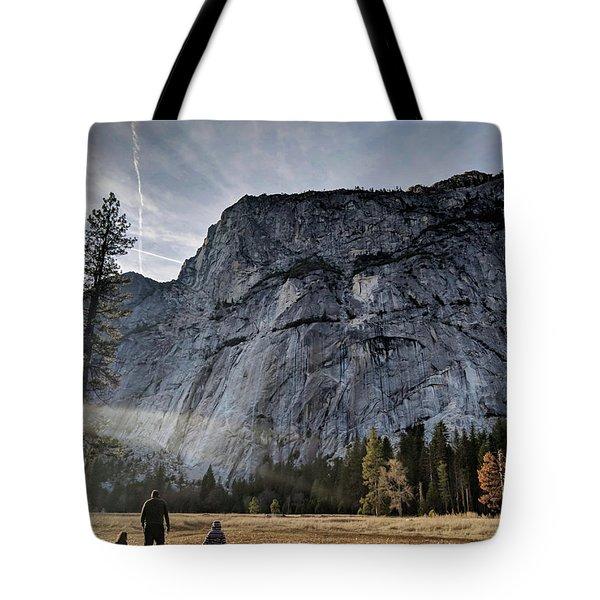 Feel Small Tote Bag