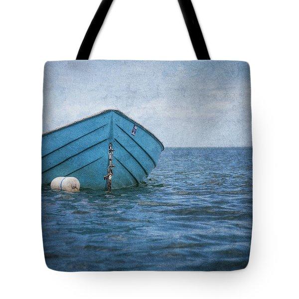 Feel The Blues Tote Bag