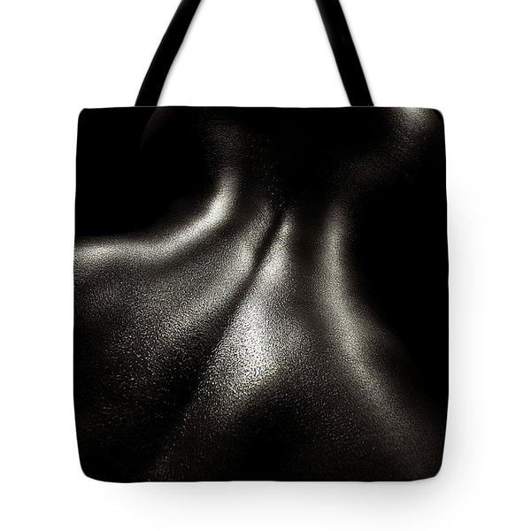 Female Nude Oil 4 Tote Bag