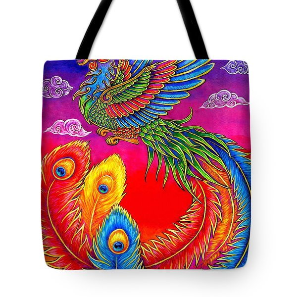 Fenghuang Chinese Phoenix Tote Bag