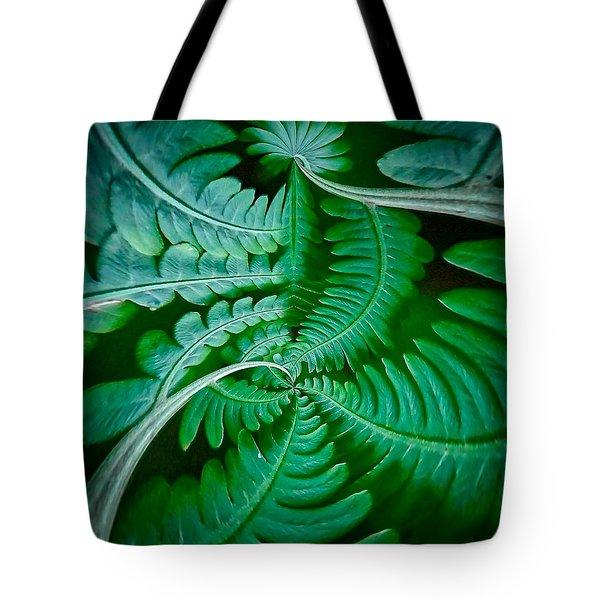Fern Dance Tote Bag