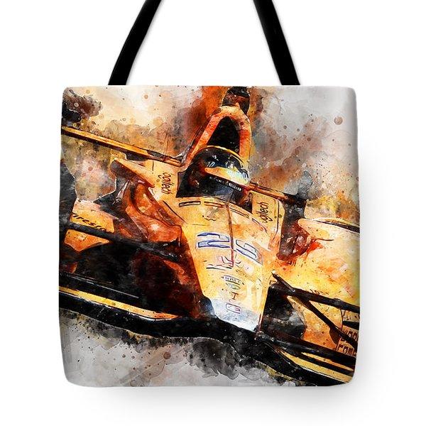 Fernando Alonso, Indy 500 - 04 Tote Bag