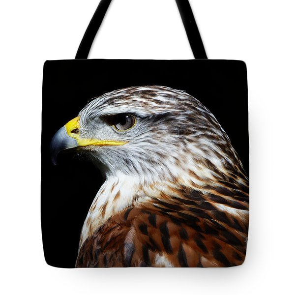 Tote Bag featuring the photograph Ferruginous Hawk by Sue Harper