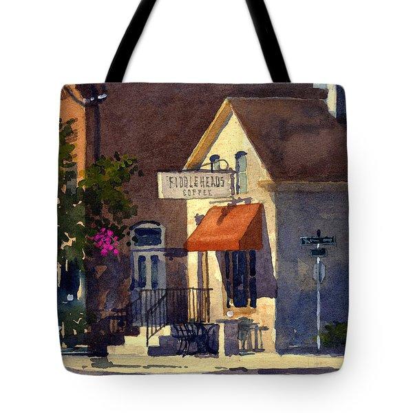 Fiddleheads, Morning Light Tote Bag