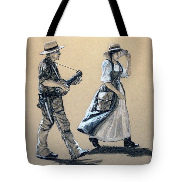 Fiddler's Daughter Tote Bag