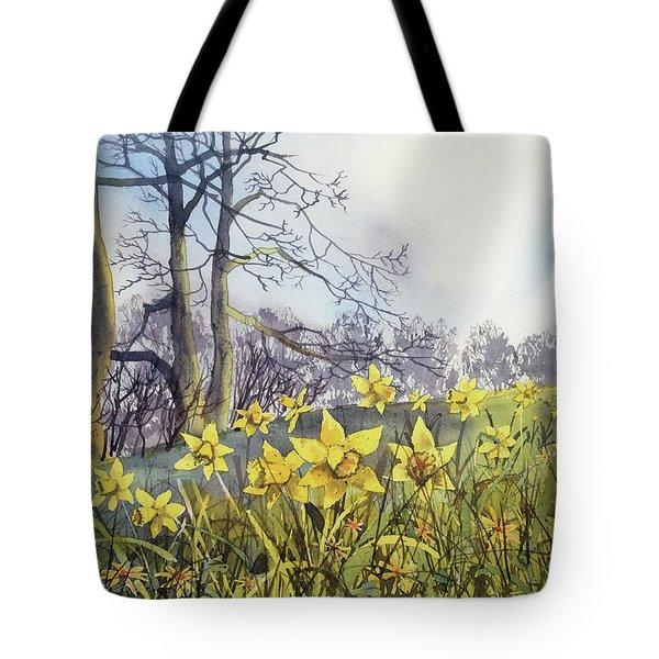 Field Of Hope At Burton Agnes Tote Bag