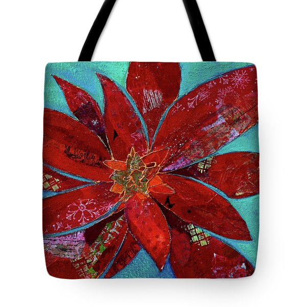 Fiery Bromeliad II Tote Bag