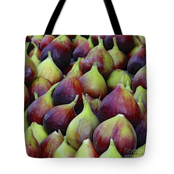 Tote Bag featuring the photograph Figs by PJ Boylan