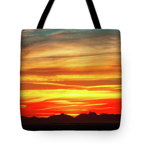 Tote Bag featuring the photograph Final Glimpses by Rick Furmanek