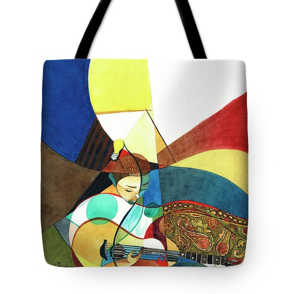 Finding Chords Tote Bag