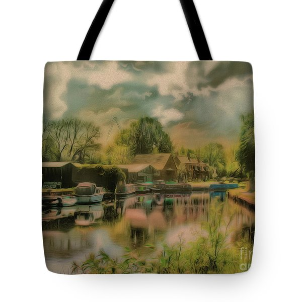 Tote Bag featuring the photograph Finding My Own Wey by Leigh Kemp