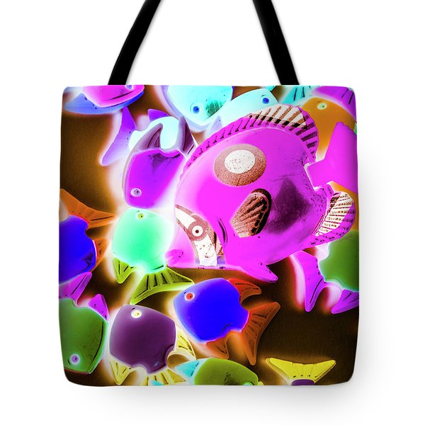 Finding Neon Tote Bag
