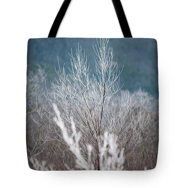 Fingers Of Hoarfrost Tote Bag