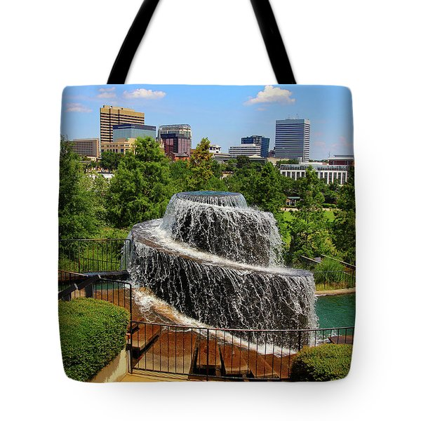 Tote Bag featuring the photograph Finlay Park Columbia South Carolina by Joseph C Hinson Photography