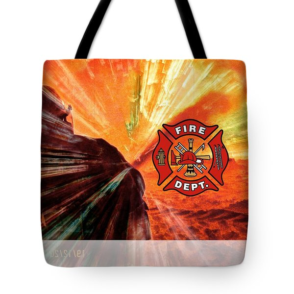 Fire Fighting 1 Tote Bag