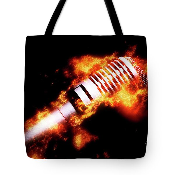 Fire It Up Tote Bag