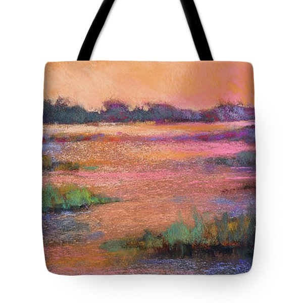 Fire Marsh Tote Bag