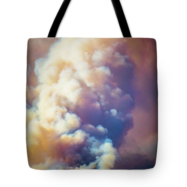 Tote Bag featuring the photograph Fire Power by Lynn Bauer