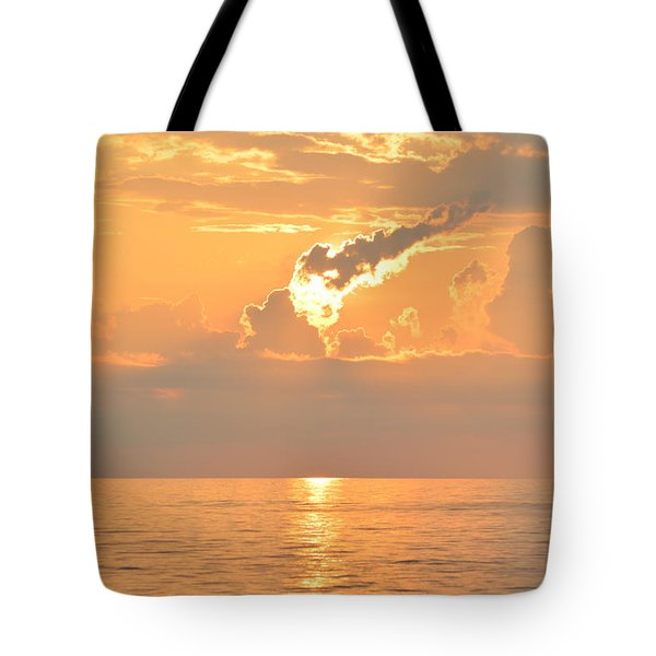 Tote Bag featuring the photograph Fireball   by Barbara Ann Bell