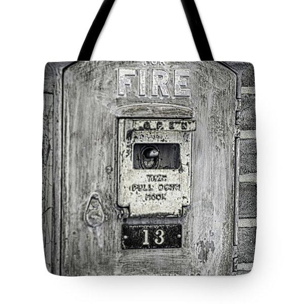 Firebox Tote Bag