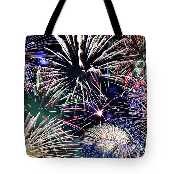 Fireworks Grand Finale Tote Bag