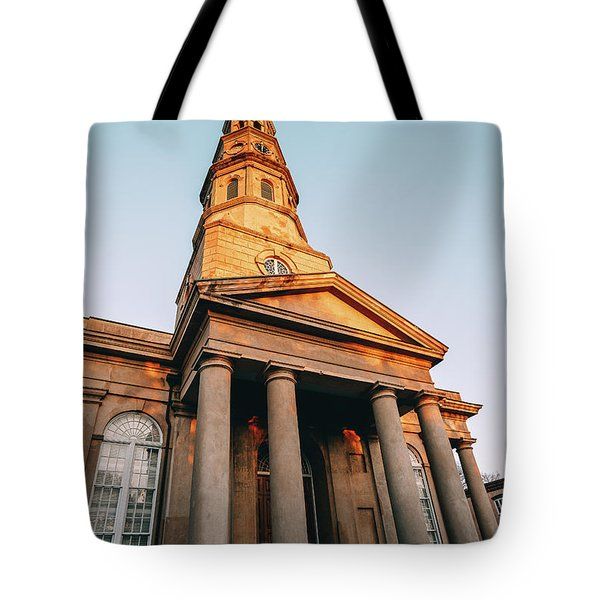 Firm Foundation Tote Bag