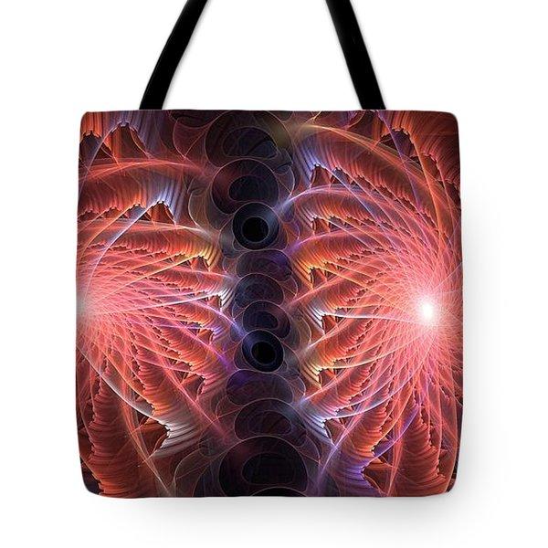 Firmament Filaments Tote Bag
