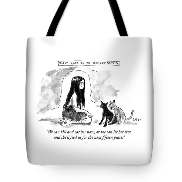 First Cats To Be Domesticated Tote Bag