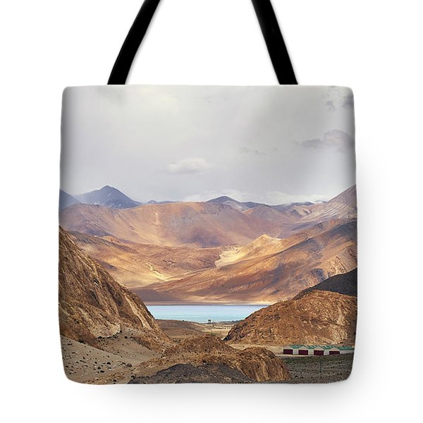 Tote Bag featuring the photograph First Glimpse by Whitney Goodey