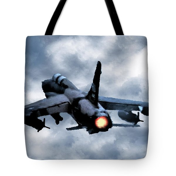 First In Last Out Tote Bag