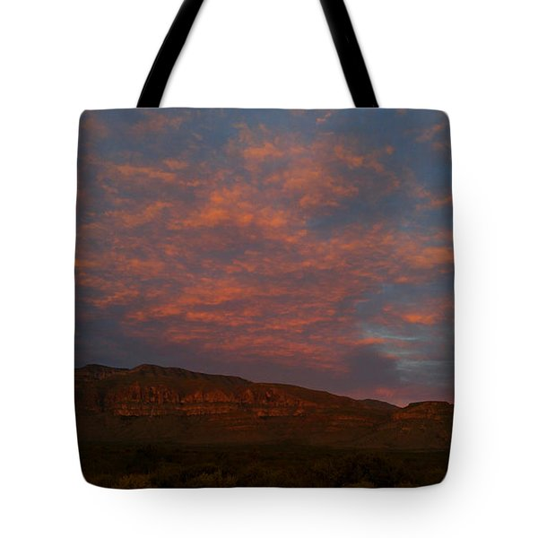 First Light Over Texas 3 Tote Bag