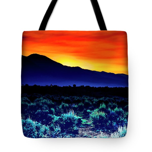 First Light V Tote Bag