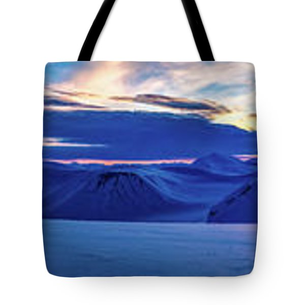 First Sun After Polar Night Tote Bag