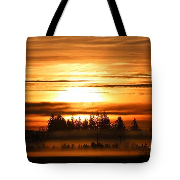First Sunrise Tote Bag