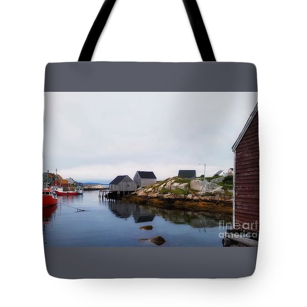 Fish Shacks  Tote Bag