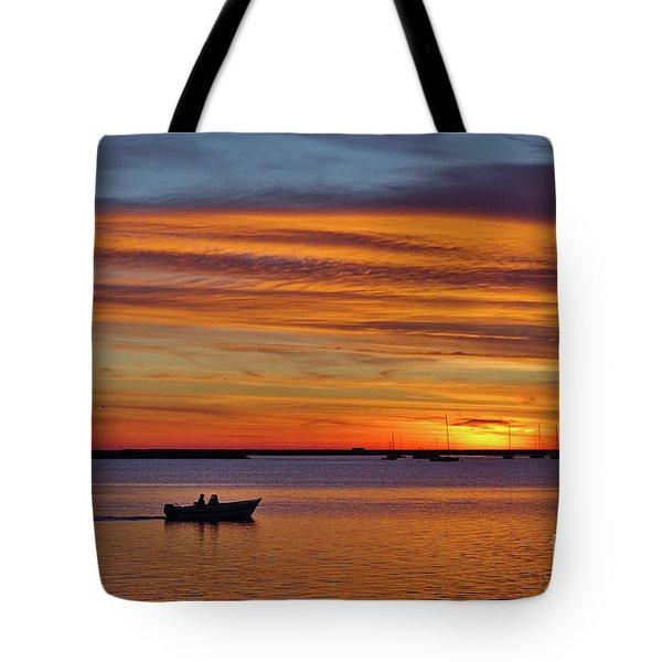 Fisherman's Return Tote Bag