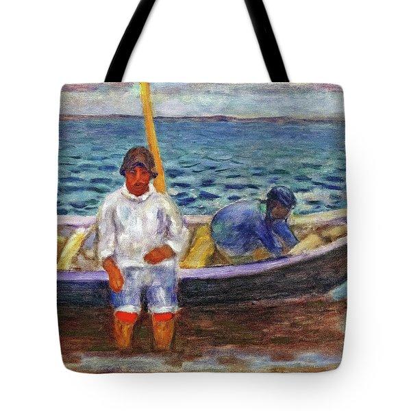Fishermen - Digital Remastered Edition Tote Bag