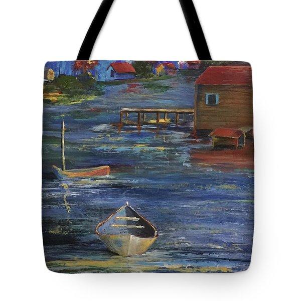 Fishermen's Retreat Tote Bag