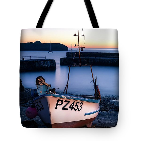 Fishing Boat In Mullion Cove Tote Bag