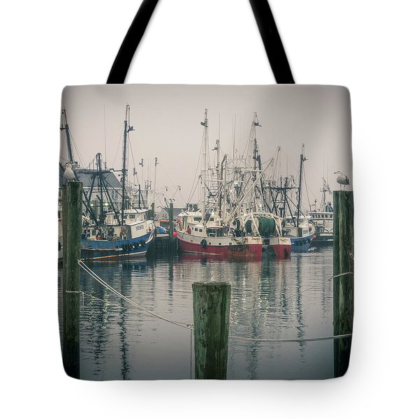 Tote Bag featuring the photograph Fishing Boats by Steve Stanger