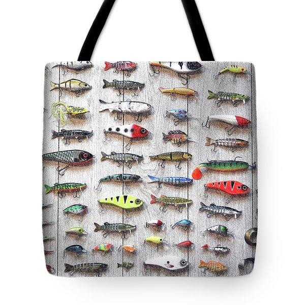 Fishing Lures - Dwp2669219 Tote Bag