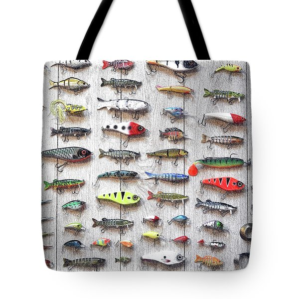 Fishing Lures - Dwp2669219 Tote Bag
