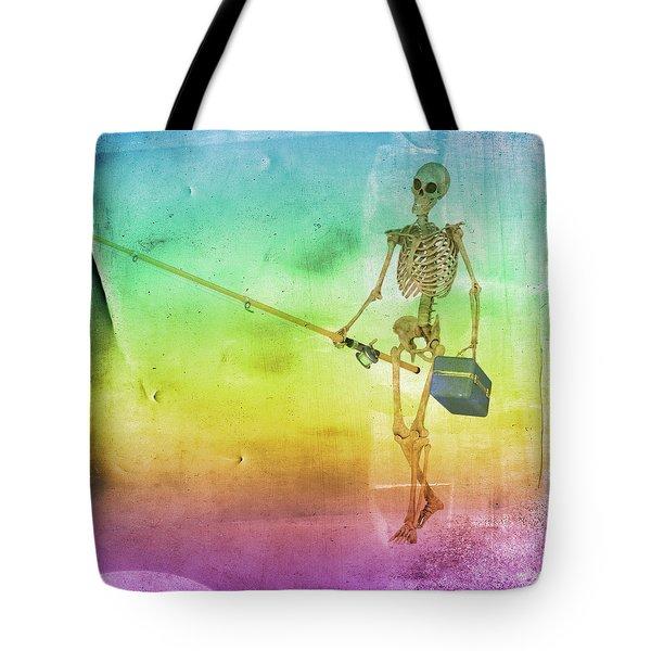 Fishing Man Tote Bag